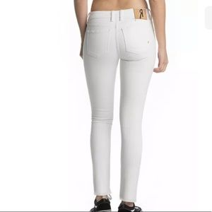 Womens White Remix Jeans by Rock Revival 24X30